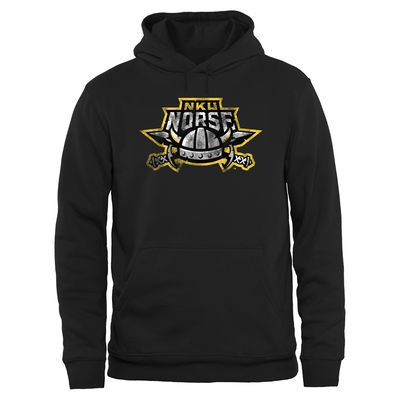 Northern Kentucky University Norse Big & Tall Classic Primary Pullover Hoodie - Black