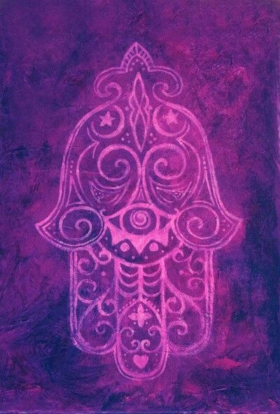 Hamsa Wallpaper Art