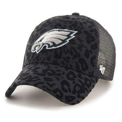 Women's '47 Black Philadelphia Eagles Billie Adjustable Hat