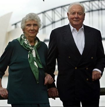 Margaret and Gough Whitlam