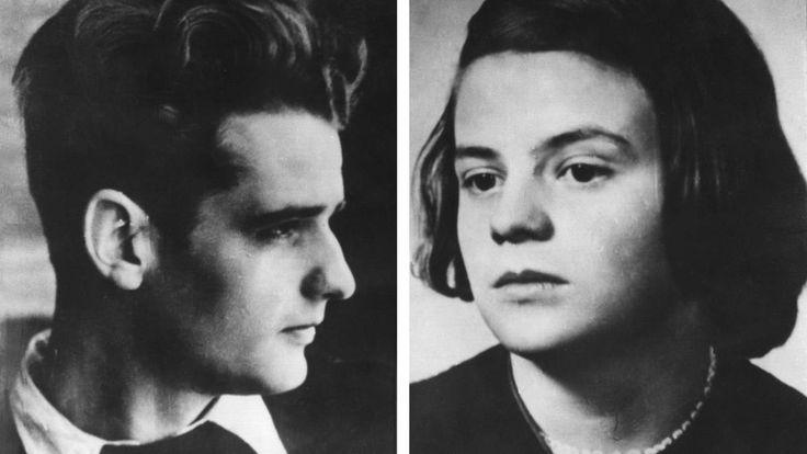 """Die Geschwister Scholl kämpften mit Flugblättern in der Widerstandsgruppe """"Weiße Rose"""" gegen das Regime von Adolf Hitler. Vor 75 Jahren wurden sie ..."""