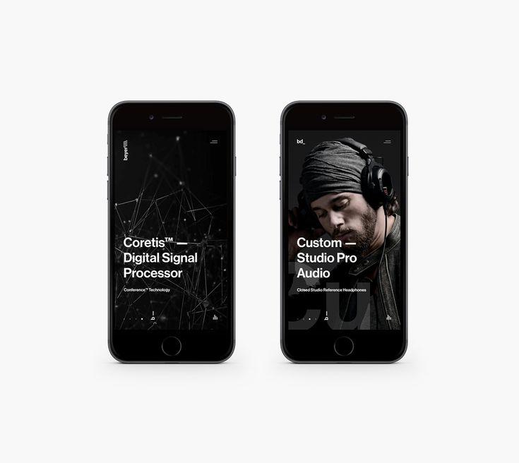 Beyerdynamic // BRDNMC on App Design Served