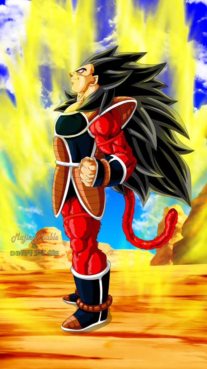 Raditz Ssj4 By Majingokuable Proletariat Dragon Ball Dragon