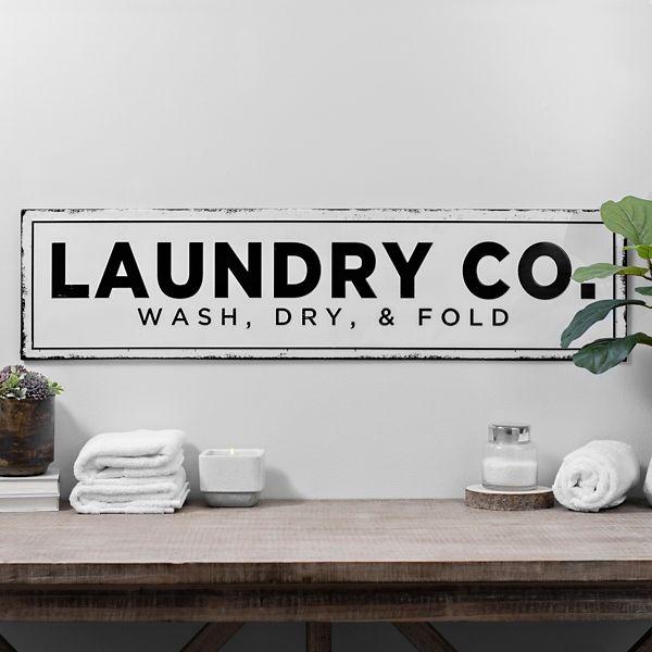 Kirkland S Laundry Room Decor Metal Wall Plaques Laundry Room Makeover