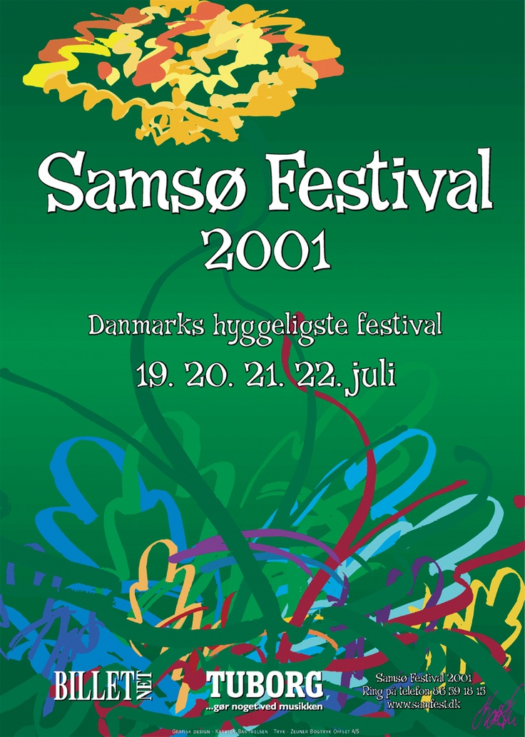 Samsø Festival 2001