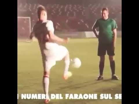 Ball Juggling Skills Shaarawy