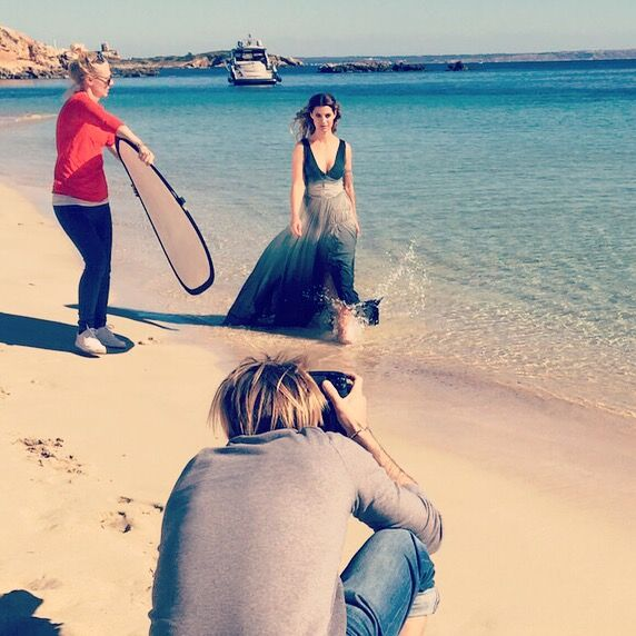 Photoshooting for MADONNA Magazin / Mallorca