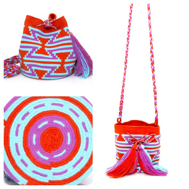 Introducing the Chico Mochila. Handwoven by the indigenous Wayuu Tribe in South America. This #shoulderbag is intricate in its' design taking up two eeks to #handweave . Learn more about the tribe and pick one up at www.wayuutribe.com $125.00 #Surf #Beachbum #beachstyle #bohostyle #boho #handbag #beachbabe #beachbag #surfergirl #bohofashion #beachchic #desertstyle #handbag