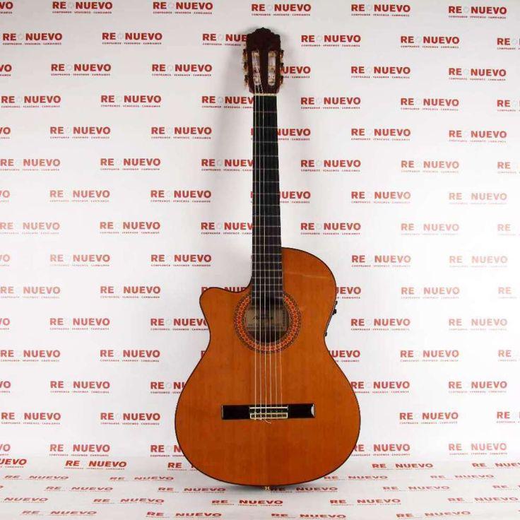 Guitarra electroacústica ALMANSA CTW435eez E266070 de segunda mano  #guitarra #almansa #segundamano