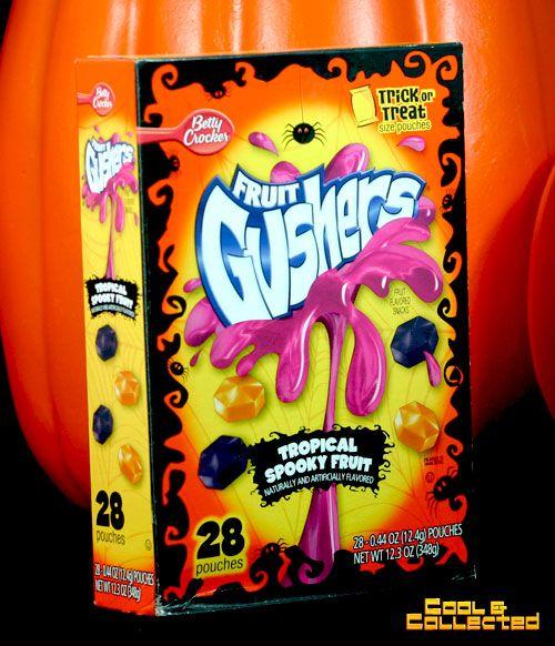 halloween fruit gushers!!!!! Love love love this!!!!!!!