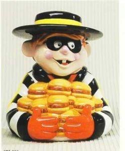 the Hamburglar: Cookie Jars Dig, Mcdonalds Hamburglar, Cookies Jar S, Hamburglar Cookie, Vintage Cookie, ️ ️Cookie Jars ️ ️