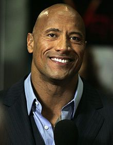May 2, 1972 ♦ Dwayne Johnson, American actor, producer, singer, and professional wrestler.