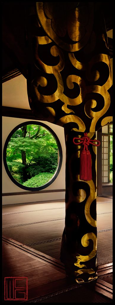 ~Gold Swirl|Spring Gardens in Kyoto, Japan | House of Beccaria