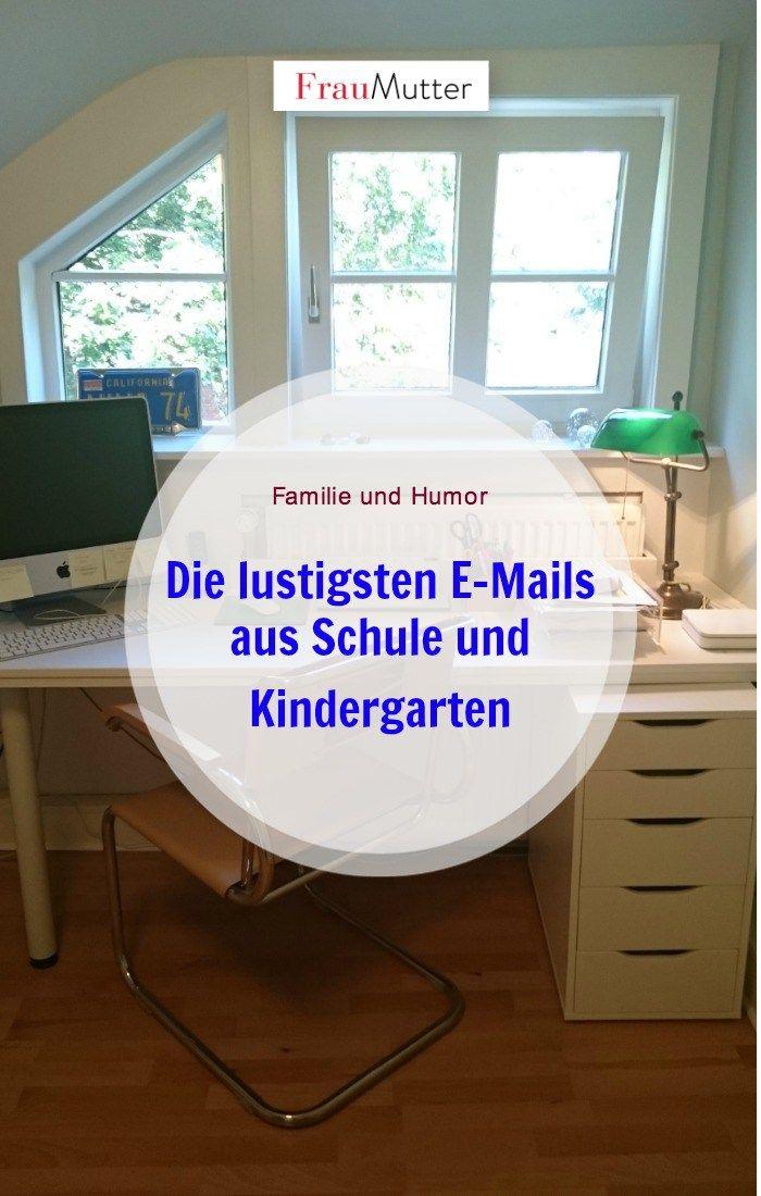 """""""Läuse-Elternabend"""" und Co: Die zehn besten und lustigsten E-Mails aus Schule und Kindergarten. Eltern kennen das! #eltern #familie #schulkind #kindergarten #elternbrief"""