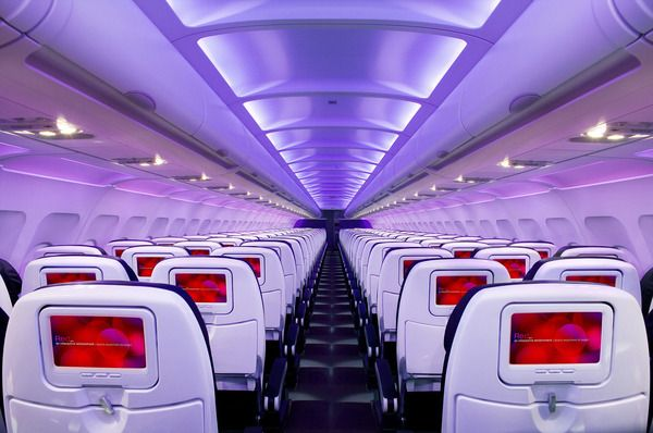 Virgin America Image Library by The New Cruelty, via Behance