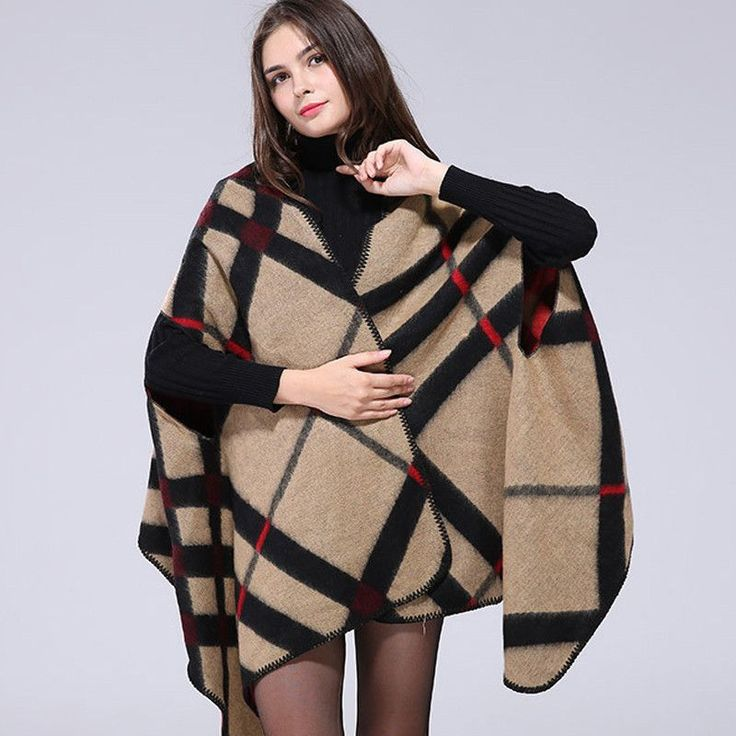 Free Shipping - Cachecol Autumn Winter Poncho Plaid Vintage Blanket Womens Scarves Shawl. Item Type: ScarvesGender: WomenDepartment Name: AdultStyle: FashionModel Number: FZSY042Scarves Type: PonchoScarves Length: 135cm-175cmPattern Type: PrintMaterial: Polyestermaterial: : 50% acrylic and 50% polyester