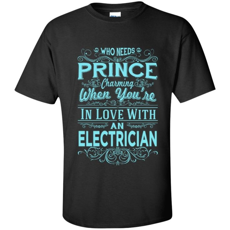 In Love with Electrician Tshirt
