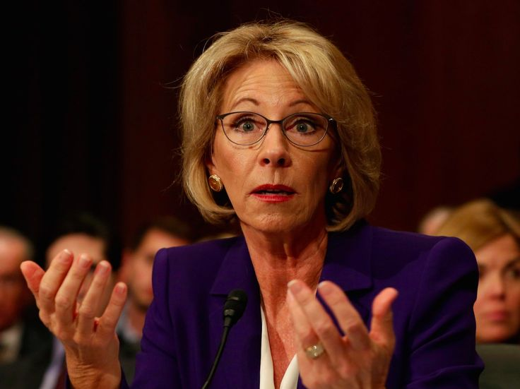 Betsy DeVos just compared school choice to taking Uber over a taxi  here's why that could be troubling