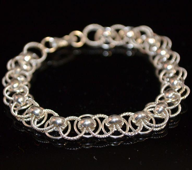 Stijlvolle zilveren armband #armband Gratis verzending in Nederland www.dczilverjuwelier.nl