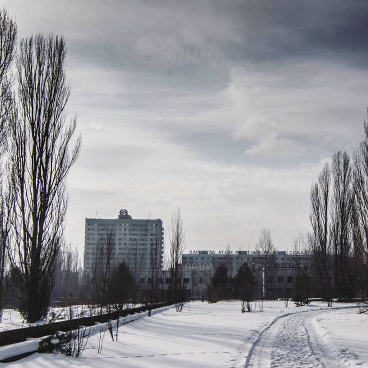 Belarus received 70% of the contamination from Chernobyl.    @chernobyl_catastrophe_of_time  @mierzej84   #pripyat #prypiat #chernobyl #chernobylzone #nuclear #catastrophe #ghosttown #city #exclusionzone #abandoned #abandonedphotography #abandondedplaces #wasteland #winter #postapocalyptic #forgotten #radiation #radioactivity #urbexukraine #urbex #project #vr #Gliwice #Poland #Ukraine