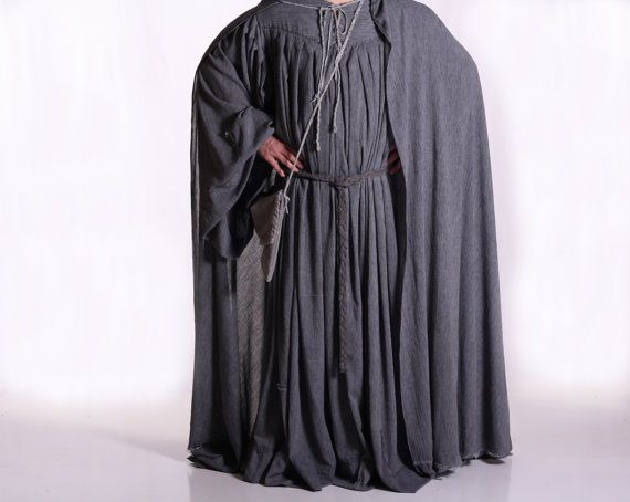 Gandalf The Grey Wizard Costume - Mens LARGE