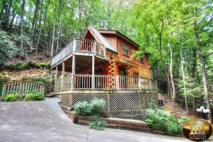 1000 images about cabins in tn on pinterest tennessee vacation rentals and luxury log cabins - Small log houses dream vacations wild ...