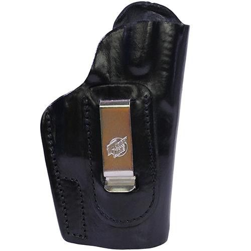 Inner Waistband Leather Holster - CZ 75 P07 Duty, Black, Right Hnd