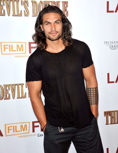 actor Jason Momoa, Game of thrones, Man with style
