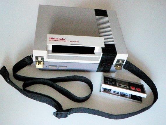 Nintendo NES Shoulder Bag & controller wallet set: Console, Bag Controller, Dream Briefcase, Nes Bag, Controller Wallet, Nes Case, Nintendo Purse