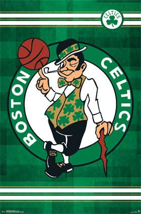 Boston Celtics Logo (24x36) - SPT13615