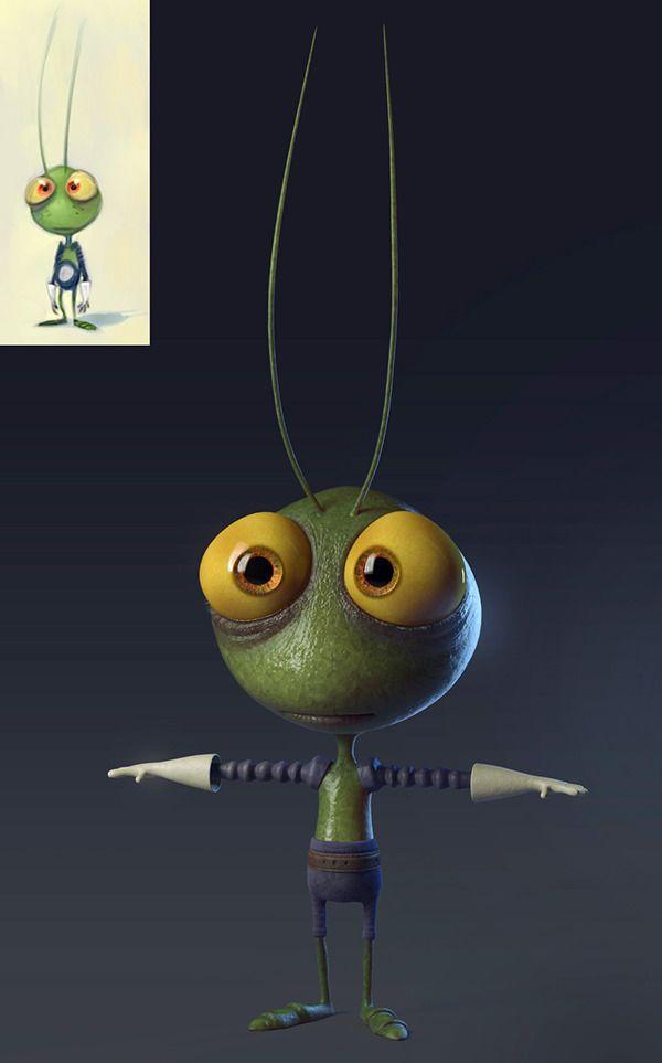 Little Alien Dude on Behance
