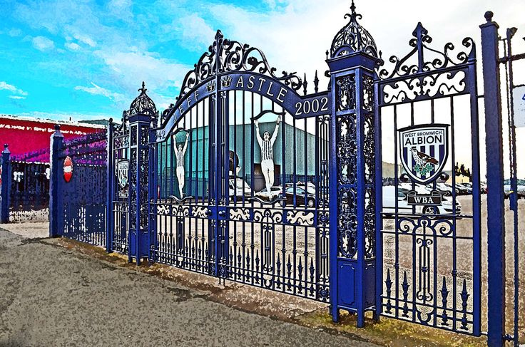 Astle Gates, The Hawthorns; home of West Bromwich Albion