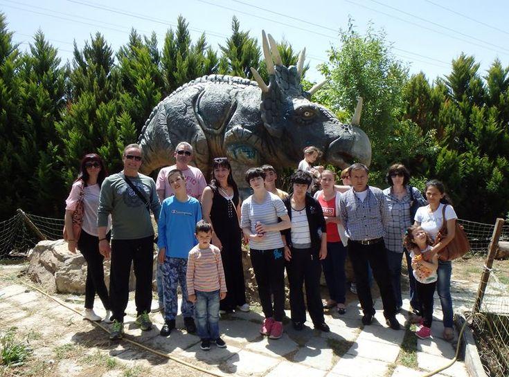 Στο πάρκο Δεινοσαύρων το Ειδικό Σχολείο Γαλανόβρυσης