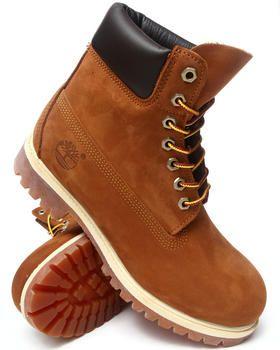 "Timberland Men Tan Timberland Icon 6"" Premium Boots"