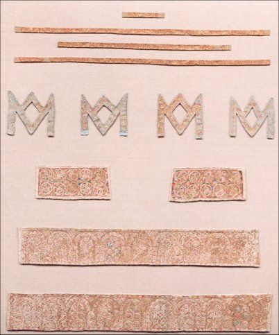 Image: All pieces of the Maaseik Embroideries