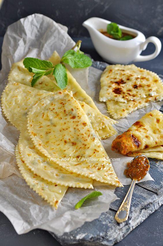 Азербайджанская кухня: Кутабы - Вкусная пауза