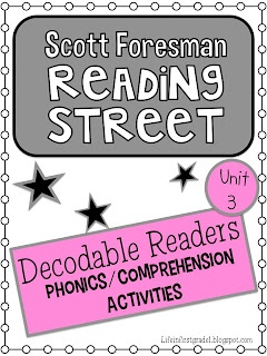 Life in First Grade: Scott Foresman Decodable Readers