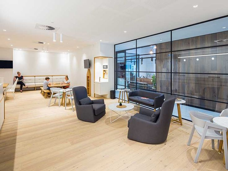 Mafi chemical free flooring at Allergy Medical Double Bay   Hassell Studio   Larch Brushed White Oil   Mafi Timber