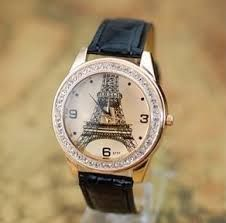 Paris time - lovely fashion watches in various colours.