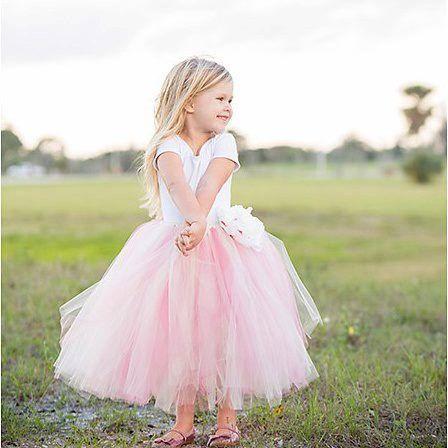 Sweet Flower Girl TuTu(size 6-24 mo & 2-4T). CUSTOM COLOR tutu, Flower Girl tutu, Baby tutu, Custom Girls tutu, Birthday tutus, Wedding tutu
