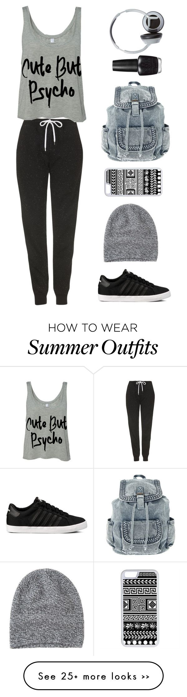Cute but psycho by sasha06527 on Polyvore featuring Topshop, Toast, CellPowerCases, OPI and Nixon