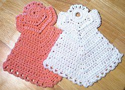 Janelle`s Dishcloth Angels...I love this pattern