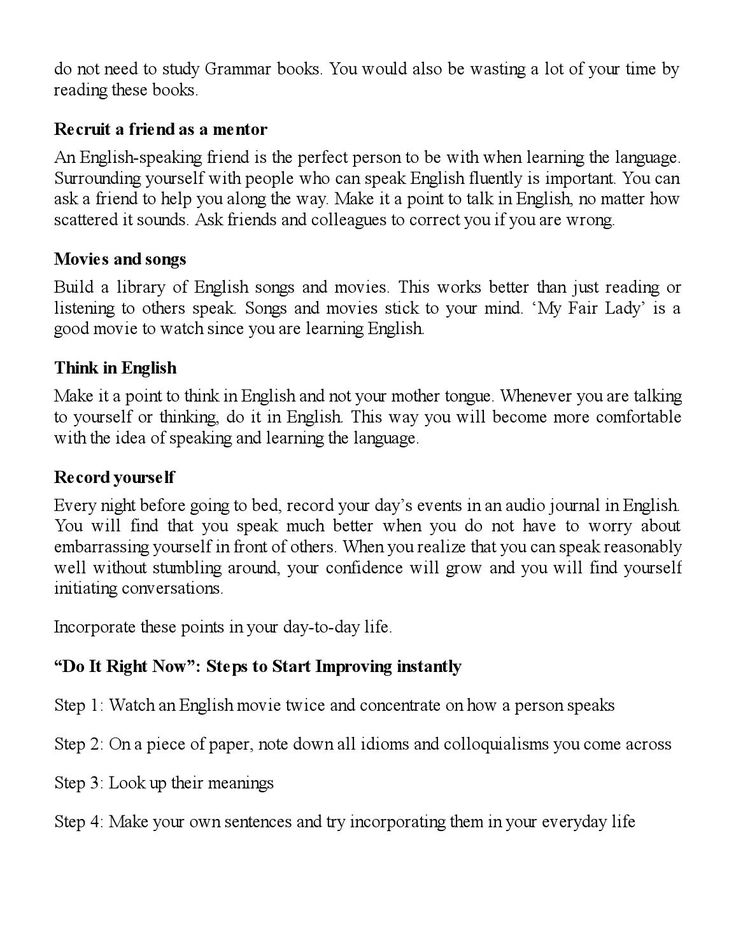 Do you Struggle with the English Language? Want to learn the secrets to becoming fluent in just 7 Days? Then you have found the perfect guide! In This Guide You Will Learn... Easy Methods to Improve English Reading Skills Secret Tips to Memorize Vocabulary Quick and Easy steps to Learn English Grammar The #1 Reason Why People Fail at Learning English; and What You Can Do About It And Much, Much More! Download this guide and start learning English right away!