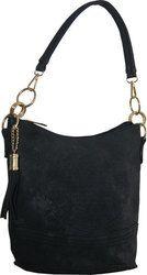 Τσάντα χειρός και ώμου Νο 13 - Μαύρη (Fada Firenze κωδ.: 4989-54)