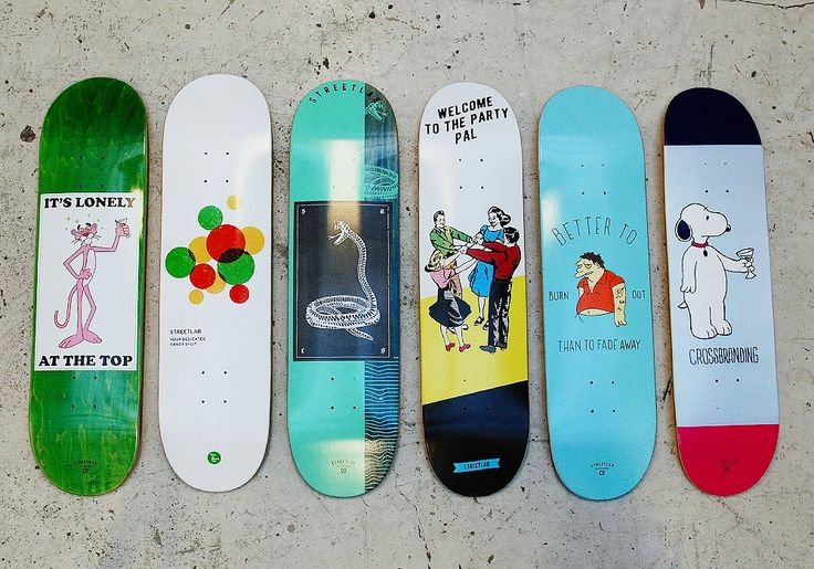 Skateboard graphic made for Streetlab. Graphic design, skateboarding