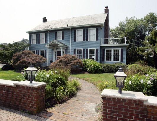 "The home portrayed as the haunted Amityville house in the 1979 film ""The Amityville Horror"" was last listed for $915,000 in Nov. 2012 but the listing was removed in Jan. 2013. Located in Toms River, N.J., the four-bedroom home was used for exterior shots for the film."