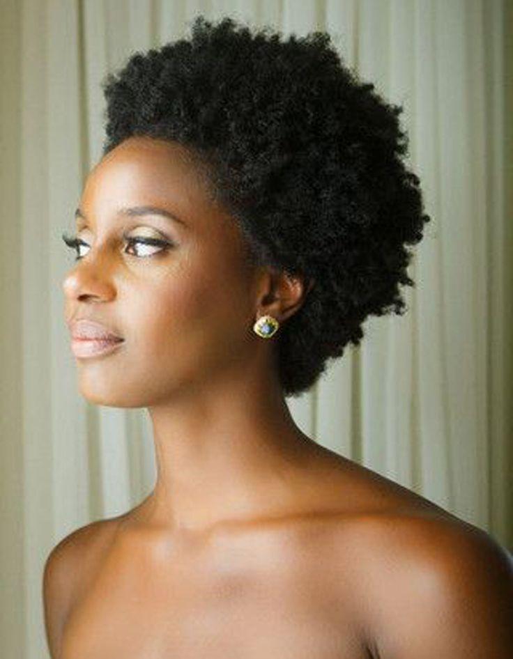 Coupe courte cheveux afro été 2016 - Les plus belles coupes courtes de Pinterest - Elle