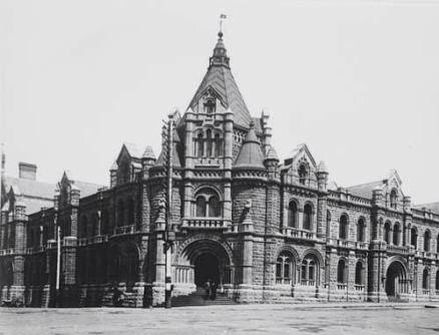 The former Melbourne Magistrates Court was built by Swanson Brothers between…
