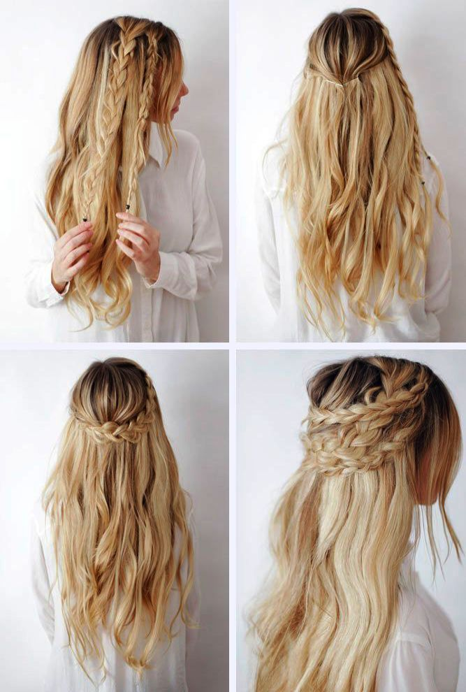 Scunci Effortless Beauty Thick Hair No Damage Black Elastics The Hairstyle Blog Braided Hairstyles Cool Braid Hairstyles Long Hair Styles