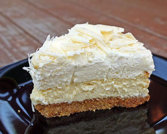 White Chocolate Vanilla Bean Cheesecake